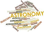Word cloud for Astronomy