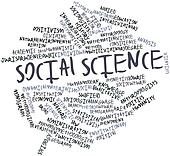 Word cloud for Social science