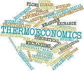 Word cloud for Thermoeconomics