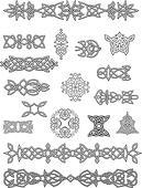 Celtic ornaments and embellishments