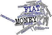 Word cloud for Fiat money