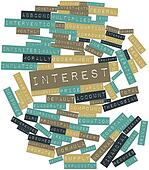 Word cloud for Interest
