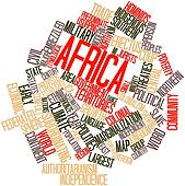 Word cloud for Africa
