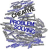 Word cloud for Creative problem solving