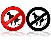 No dog poop allowed