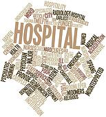 Word cloud for Hospital
