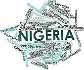 Word cloud for Nigeria
