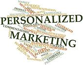 Word cloud for Personalized marketing