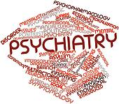 Word cloud for Psychiatry