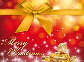 Christmas Greeting Card - Merry Christmas