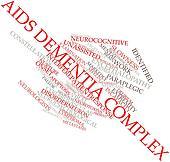 Word cloud for AIDS dementia complex