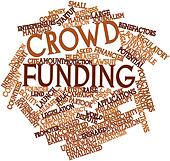 Word cloud for Crowd funding
