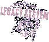 Word cloud for Legacy system