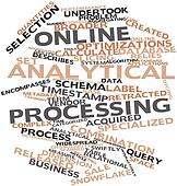 Word cloud for Online analytical processing