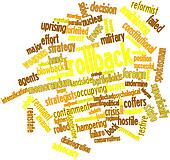 Word cloud for Rollback