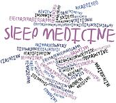 Word cloud for Sleep medicine