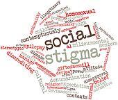 Word cloud for Social stigma