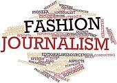 Word cloud for Fashion journalism