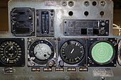 Aviation instruments board