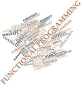 Word cloud for Functional programming