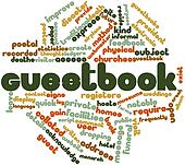 Word cloud for Guestbook