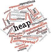 Word cloud for Heap