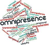 Word cloud for Omnipresence
