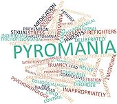 Word cloud for Pyromania