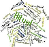 Word cloud for Ritual