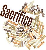 Word cloud for Sacrifice