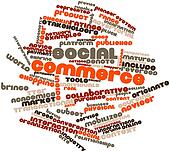 Word cloud for Social commerce