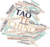Word cloud for Tao Te Ching