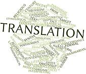 Word cloud for Translation