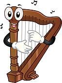 Harp Mascot