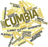 Word cloud for Cumbia