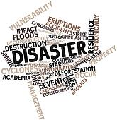 Word cloud for Disaster