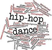 Word cloud for Hip-hop dance