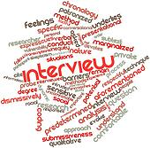 Word cloud for Interview
