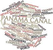 Word cloud for Panama Canal