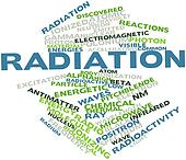 Word cloud for Radiation