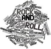 Word cloud for Rock and roll
