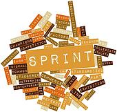 Word cloud for Sprint