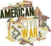 Word cloud for American Civil War