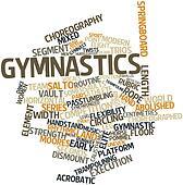 Word cloud for Gymnastics