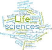 Word cloud for Life sciences