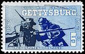 USA - CIRCA 1963 Gettysburg