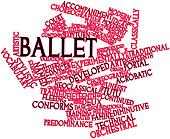 Word cloud for Ballet