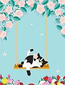 Swinging Cat