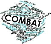Word cloud for Combat