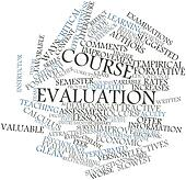Word cloud for Course evaluation